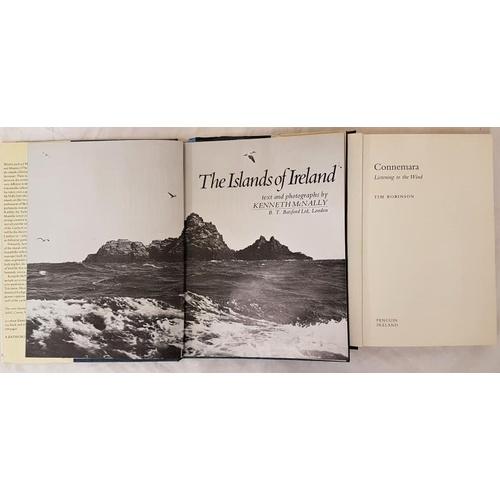 29 - Tim Robinson.<em> Connemara – Listening to the Wind.</em> 2006 and K. McNally. <em>The Islands of Ir...