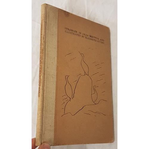 32 - Rivers, Elizabeth. <em>Stranger in Aran</em>. With illustrations by Elizabeth Rivers, some hand-colo...