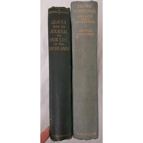 35 - <em>(Queen Victoria)</em> Letters From the Journal of Our Life in the Highlands from 1848 to 1861. 1...