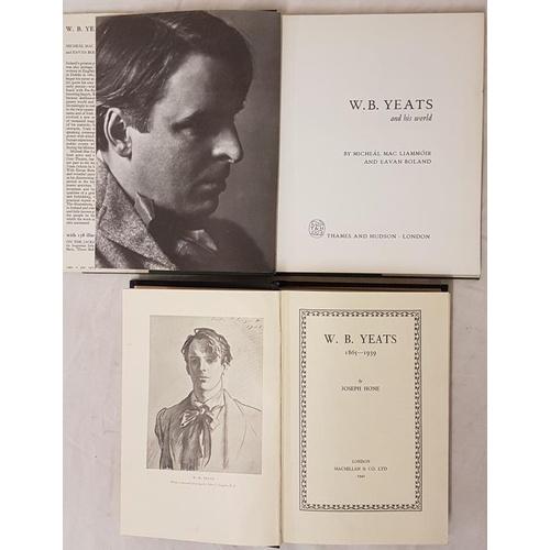 43 - W B Yeats 1865-1939, <em>Joseph Hone</em>, Macmillan, 1942, H/C, First Edition and <em>W B Yeats and...