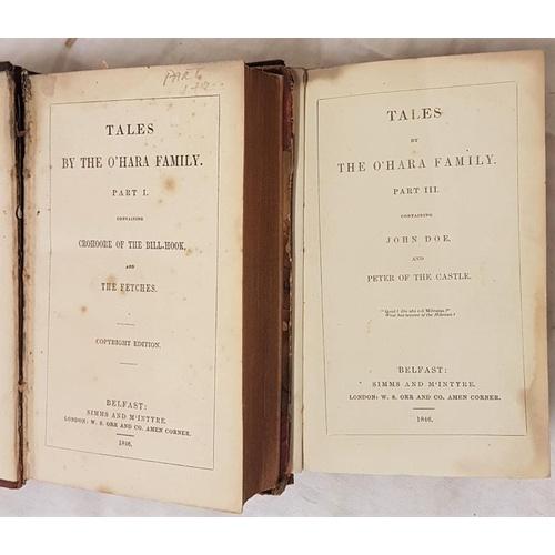 46 - Banim John.<em> Tales of The O'Hara Family</em> 2 vols 1846...