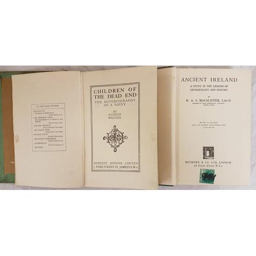 14 - Patrick McGill <em>The Children of the Dead End</em>1914; and R. A. S. McAlister <em>Ireland</em>...