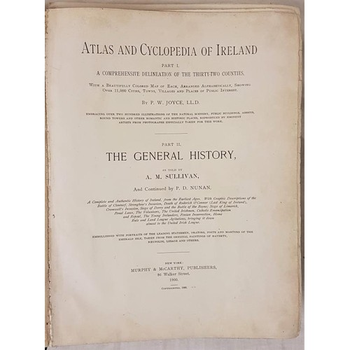 15 - <em>Atlas and Cyclopaedia of Ireland</em> Part 1 A comprehensive Delineation of the 32 counties by P...