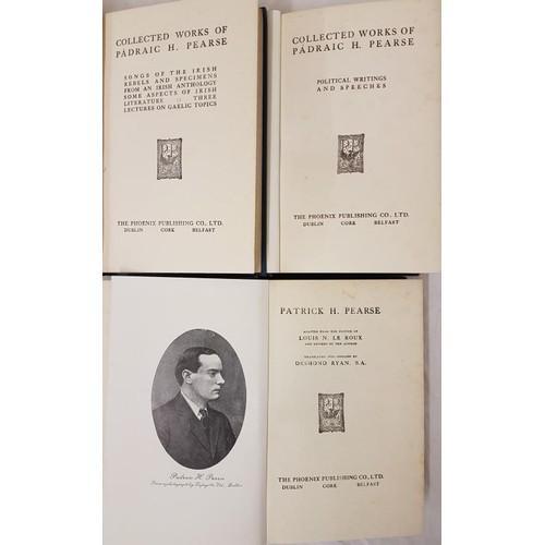 20 - Padraic Pearse<em> Songs of the Irish Rebels;</em> and <em>Political Writings and Speech...