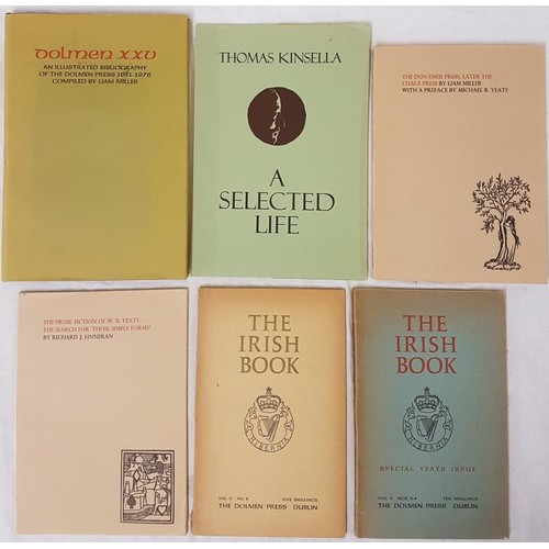 21 - Dolmen Press. <em>Special Yeats Issue;</em><em>The Cuala Press;</em> <em>The Dolmen Bibl...
