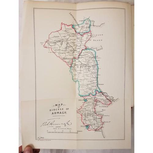 26 - Leslie, James B. <em>Armagh Clergy and Parishes</em>. Dundalk, 1911 folding map, very good. Detailed...