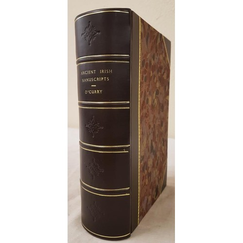 27 - O'Curry, Eugene <em>Lectures on the Manuscript Materials of Ancient Irish History</em> Dublin, 1878 ...