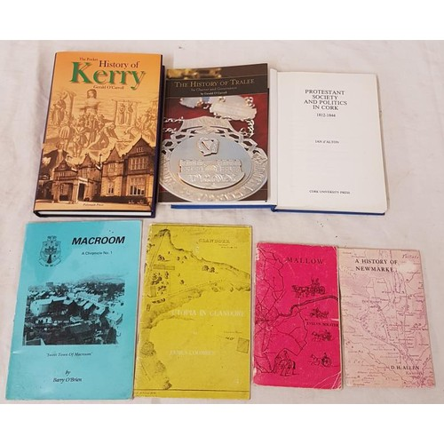 39 - Kerry and Cork interest. <em>History of Kerry and History of Tralee</em> by Gerald O'Carroll;&...