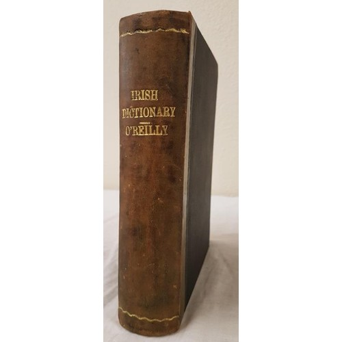 46 - O'Reilly, Edward & O'Donovan, John <em>An Irish-English Dictionary</em>. A New Edition, carefull...