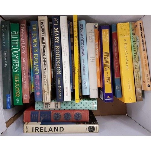 2 - Two boxes of <em>Irish and General Interest</em> Books...