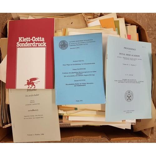 14 - Box of <em>Offprints</em>...