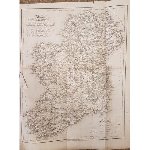 24 - Samuel Lewis <em>A Topographical Dictionary of Ireland.</em> 1837. 2 vols. Fine original cloth plus ...