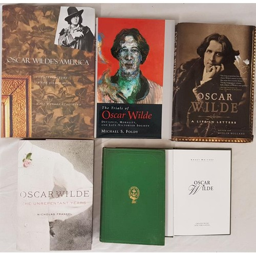 43 - Wilde:<em> Poems by Speranza</em> (Lady Wilde), 2nd, green cloth with gilt stamp, 181 pps +cat. Osca...