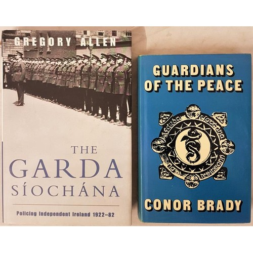 539 - Conor Brady <em>Guardians of The Peace</em> 1974. Illustrated and Gregory Allan. <em>The Garda ...