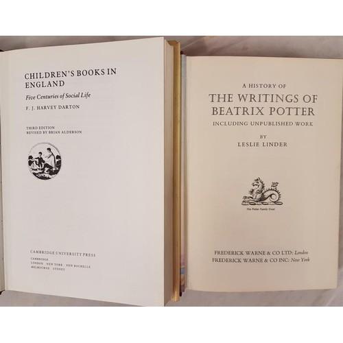545 - Children's Books: Harvey Darton. <em>Children's Books in England. Five Centuries of Soci...