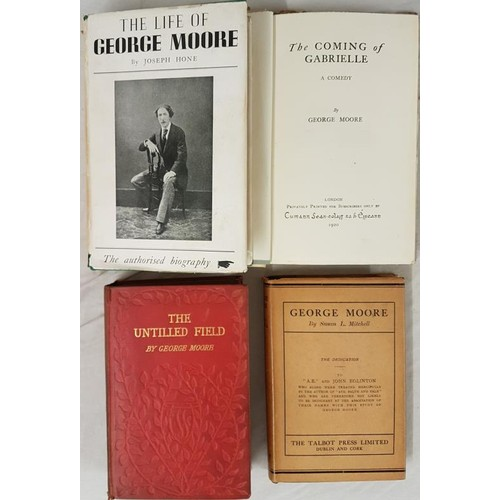 553 - George Moore,<em> The Coming of Gabrielle,</em> 1920, private printing of 1000 signed and numbered c...