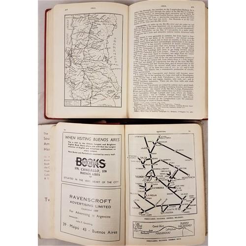 558 - South America: <em>South American Handbook</em>. Edited by H. Davies. London, Trade and Travel Publi...