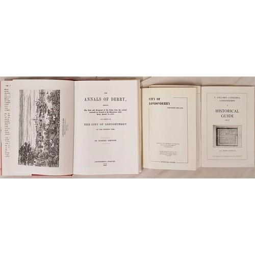 559 - Derry: Simpson, Robert. <em>The Annals of Derry</em> ... from the earliest accounts. Facsimile repri...