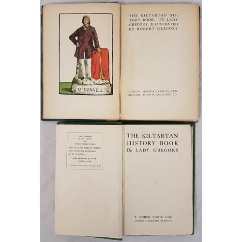 565 - Lady Gregory, <em>The Kiltartan History Book</em> with col ills by Robert Gregory from delft figures...