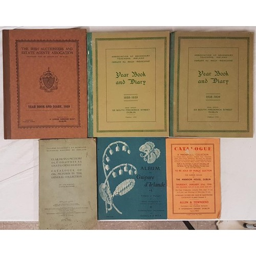 573 - <em>The Irish Auctioneers and Estate Agents Association Yearbook and Diary, 1939</em> and 5 others...