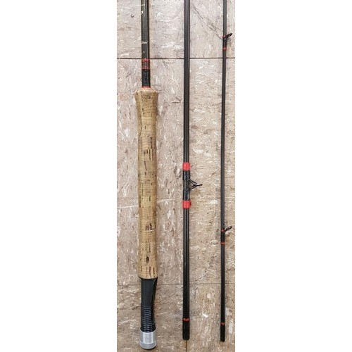 5 - <em>Faughan Valley</em> Carbon Fibre 3-piece Fly Rod, c.11ft...