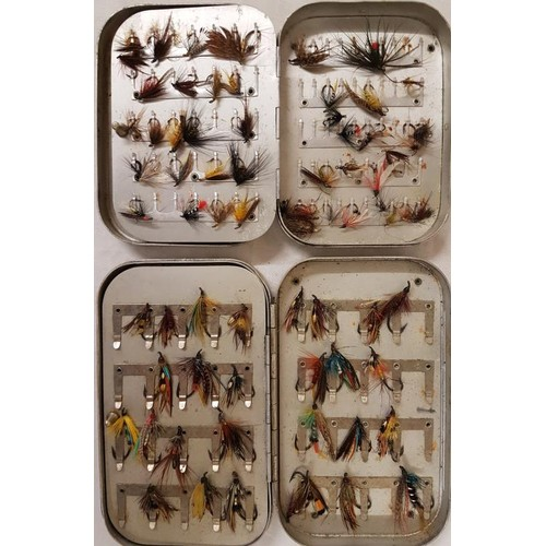 20 - Two Fly Boxes (Salmon, Trout Flies)...