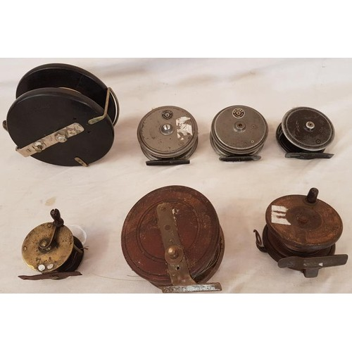 22 - Collection of Seven Fishing Reels...
