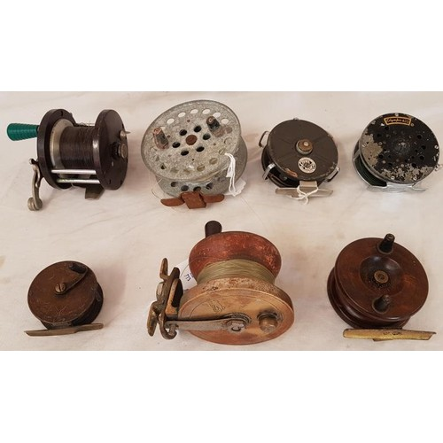 23 - Collection of Seven Fishing Reels...