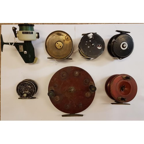 25 - Collection of Seven Fishing Reels...