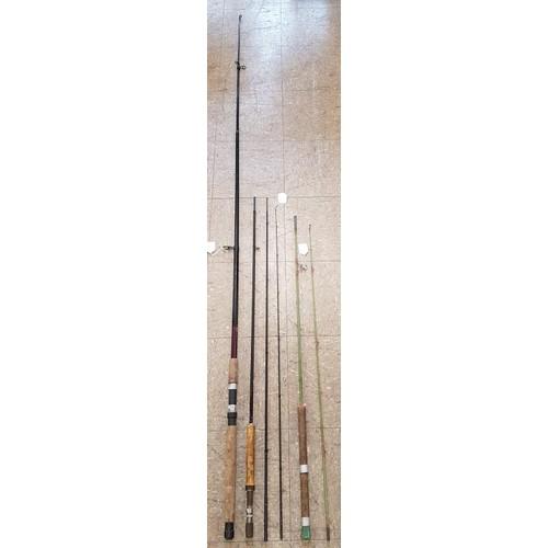 30 - <em>Fighter Composite</em> Tele 60 Graphite Rod (A/F), <em>Milbro Potglass</em> Rod and <em>Bruce &a...