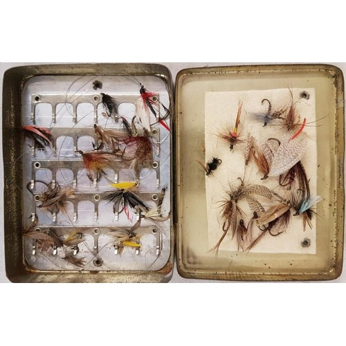 47 - Wheatley Tin of Various Fishing Flies and 3 other tins of Fishing Flies...