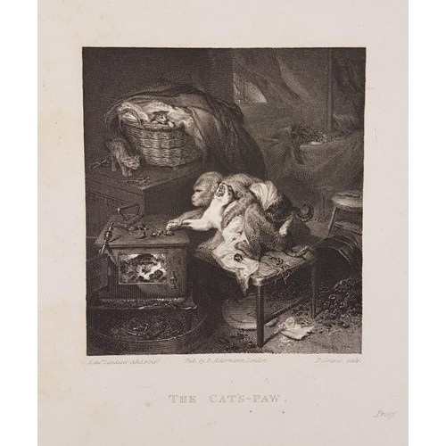 10 - Engravings: <em>A Book of Engravings</em> circa 1830s. Large quarto album. (27 x 35.5 cm). Engraved ...