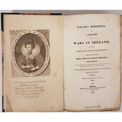 15 - Stafford, Thomas <em>Pacata Hibernia; A History of the Wars in Ireland,</em> 2nd Edition, Dublin 182...