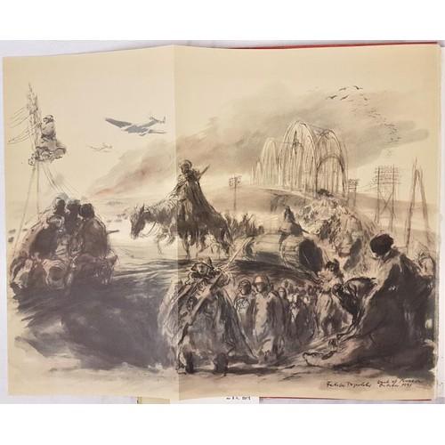 25 - Topolski, Feliks <em>Britain in Peace and War</em> drawn by Feliks Topolsk, 1941; and<em> Russia in ...
