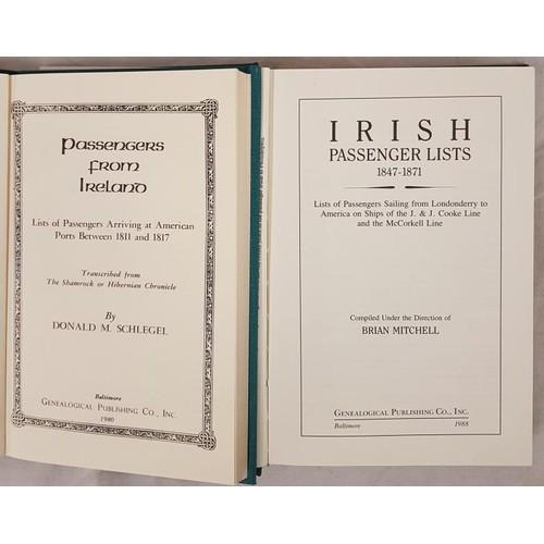 30 - <em>Passenger Lists from Ireland:</em> 1811-1817 to America. 1980. 1847-1871, 1988. Genealogical Pub...