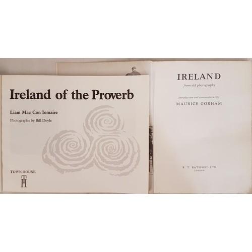 38 - Maurice Gorham <em>Ireland from old Photographs</em> 1979. Unpaginated, quarto (159) Illustrat...
