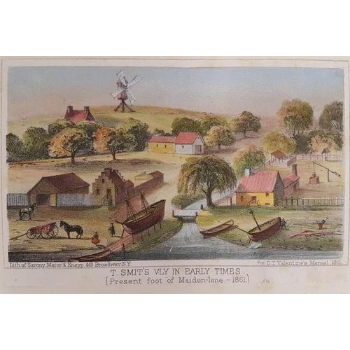 46 - <em>Manual of The Corporation of the City of New York</em>. 1859/65. Folio. 57 coloured lithograph p...