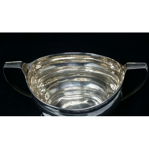 36 - Irish Silver sugar bowl Dublin 1805 by RobertBreading 218grams. 8.5 inches wide x ...