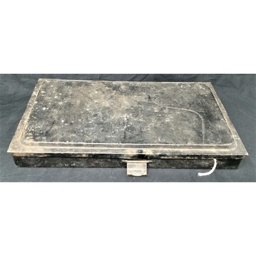 53 - 19thCentury cases metal set of artist paints case size 10 inches x 5.75 inches...