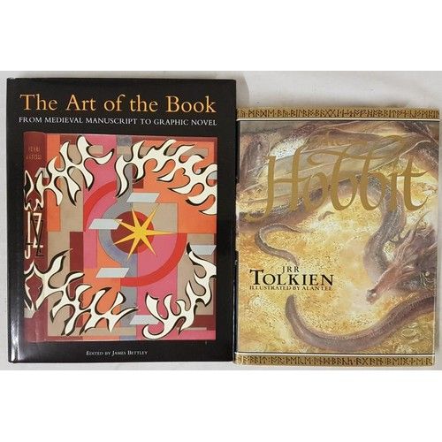 6 - J.R.R. Tolkien. <em>The Hobbit.</em> 2001. Illustrated; and James Bettley. <em>The Art of The Book.<...
