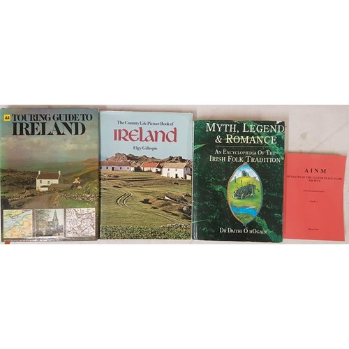 8 - <em>Myth, Legend and Romance - An Encyclopaedia of the Irish Tradition</em> by Daith O'Hogain, 1991...
