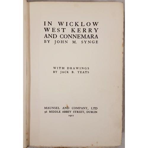 11 - Drawings by Jack B. Yeats, <em>In Wicklow West Kerry and Connemara</em>, John M. Synge, Dublin 1911 ...