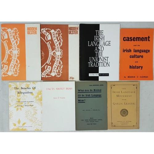 16 - Irish Language Movement:<em> Irish Language Movement and the Gaelic League,</em> about 1910; Phelan,...