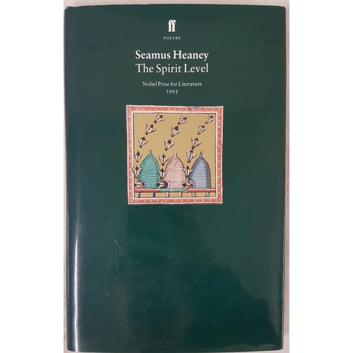 18 - Seamus Heaney <em>The Spirit Level,</em> 1966, 1st Edition in dust jacket...