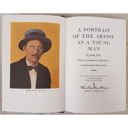 19 - JOYCE, James.<em> A Portrait of the Artist as a Young Man.</em> Connecticut, Easton Press, 1977. Roy...