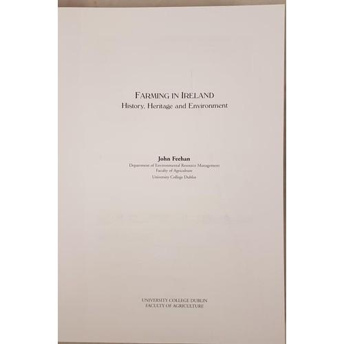 21 - John Feehan, <em>Farming in Ireland</em>…history, heritage and environment. D. 2003, folio mi...
