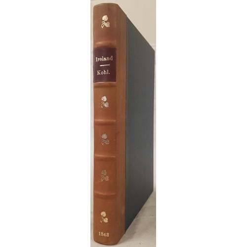 25 - Pre-famine tour book in modern leather binding. <em>Ireland.</em> Dublin, the Shannon, Limerick, Cor...