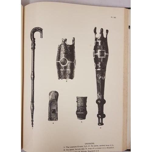 28 - <em>Christian Art in Ireland,</em> Vol 11, D. SO 1941, elephant folio, ½ leather. The much so...