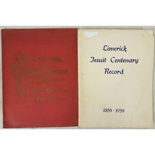 35 - Limerick. <em>Souvenir Consecration Church of the Immaculate Conception,</em> historical summary of ...