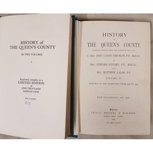 42 - Revs. J. Canon O' Hanlon and E. O' Leary, <em>History of The Queen's County</em>, ...